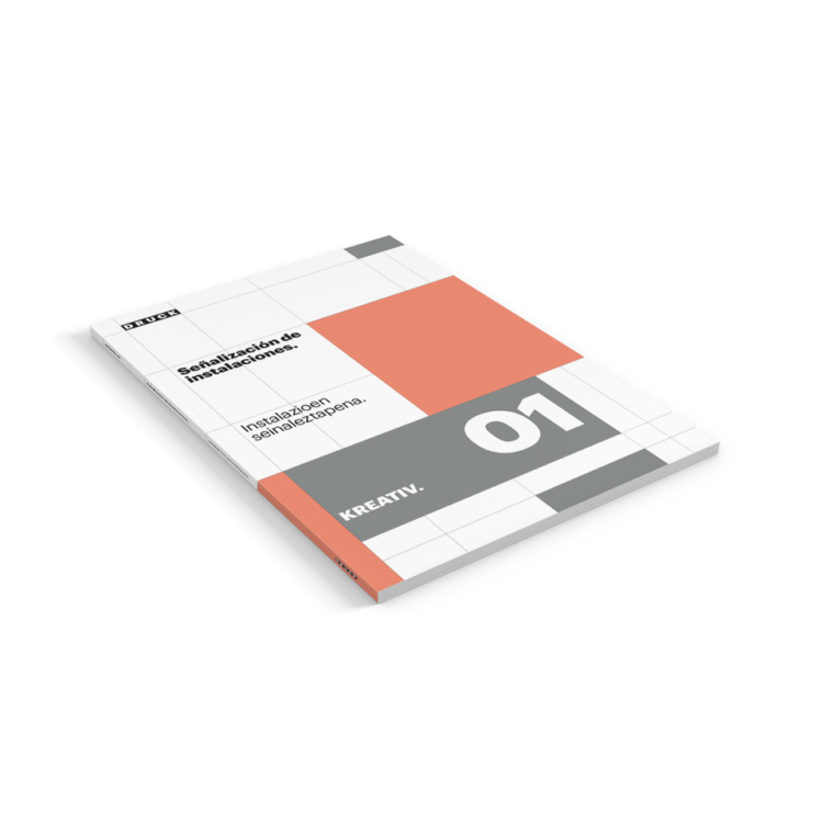 Catálogo KREATIV 01. Instalaciones.